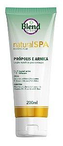 Loção Nutritiva para o Corpo Natural Spa Própolis e Arnica Blend Brasil 200ml