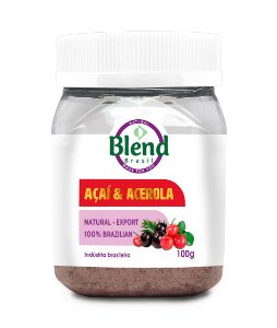Açaí e Acerola em Pó Blend Brasil 100g