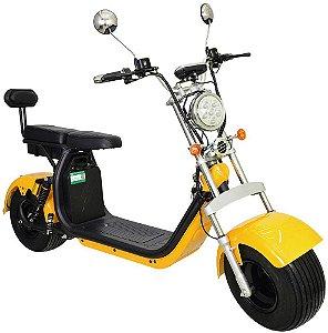 Chopper Scooter Elétrica 2000w - Amarela