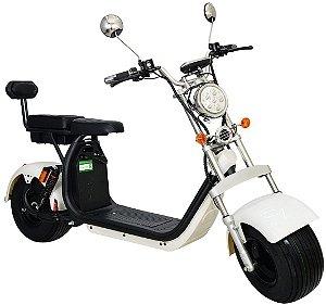 Chopper Scooter Elétrica 2000w - Branco