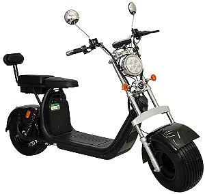 Chopper Scooter Elétrica 1500w - Preto