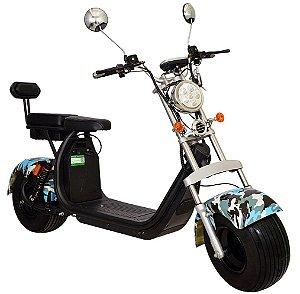 Chopper Scooter Elétrica 2000w - Camuflado