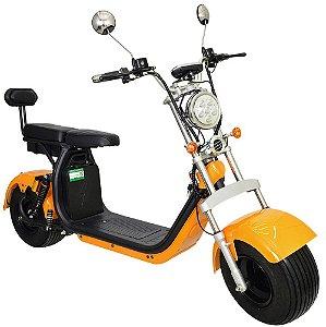 Chopper Scooter Elétrica 1500w - Dourado