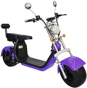 Chopper Scooter Elétrica 2000w - Roxo
