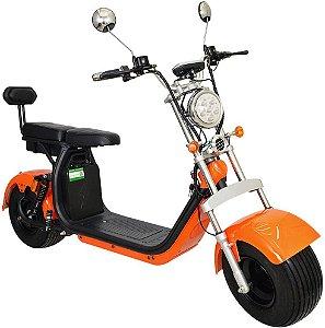 Chopper Scooter Elétrica 2000w - Laranja