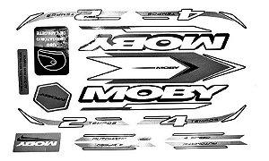 Adesivo Mobilete Moby 2 E 4 Tempos Bikelete