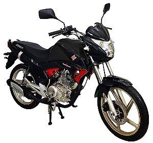 Moto Jonny Quick 150cc Zero Km Preta