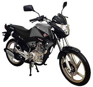 Moto Jonny Quick 150cc Zero Km Prata