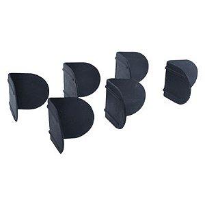 Cantoneira Plástica 10/13/16mm Sem Pino 100 peças