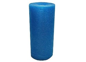 Plastico Bolha Reforçado 1,30m x 100m Azul