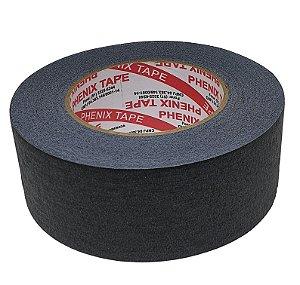 Fita Crepe Preta Phenix Tape 50mm x 50m
