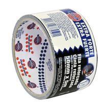 Fita Reforçada Multiuso Duct Tape 50mm x 5m Eurocel TPL 201 Preta