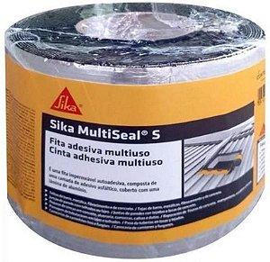 Sika MultiSeal, Fita Multiuso Autoaderente, Veda na Hora, Rolo 10cm x 10m, Preto
