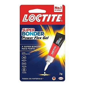 Cola Super Bonder Power Flex gel 2g Loctite - 2078040 - Henkel