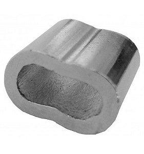 Talurite presilha utilizada para prender, com firmeza, cabos de aço 5/32,  12 unidades