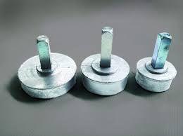 Bucha Pino alumínio para redutor 03 peça.