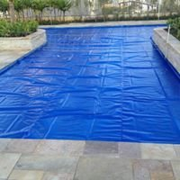 Polibolha Manta Termica Thermocap 1,38m Largura x 15m Azul x 300 micras