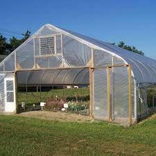 Lona Plástica Transparente Estufa com proteção U.V. GROSSA 8m de largura.