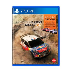 Game Sébastien Loeb Rally Evo - PS4
