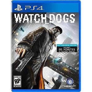 Game Watch Dogs (Versão em Português) - PS4