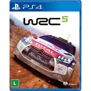 Game - WRC5 Fia World Rally Championship - PS4
