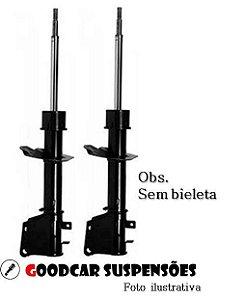 PAR DE AMORTECEDOR DIANTEIRO FIAT STRADA - 2001 A 2018
