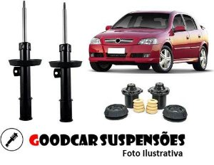 AMORTECEDORES DIANT. + KIT COMPLETO - CHEVROLET ASTRA - 1998 A 2009