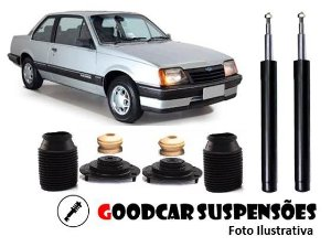 AMORTECEDORES DIANT. + KIT COMPLETO - CHEVROLET MONZA - 1982 A 1990