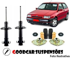 AMORTECEDORES DIANT. + KIT COMPLETO - FIAT TIPO - 1993 A 1997