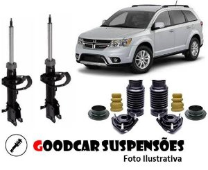 AMORTECEDORES DIANT. + KIT COMPLETO  - DODGE JOURNEY - 2011 A 2016