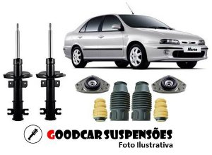 AMORTECEDORES DIANT. + KIT COMPLETO - FIAT MAREA  - 1999 A 2003