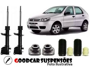 AMORTECEDORES DIANT. + KIT COMPLETO - FIAT PALIO FIRE - 2003 A 2013