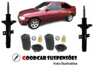 AMORTECEDORES DIANT. + KIT COMPLETO - FORD ESCORT  - 1993  A 1996
