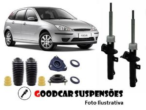 AMORTECEDORES DIANT. + KIT COMPLETO - FORD FOCUS - 2001 A 2008