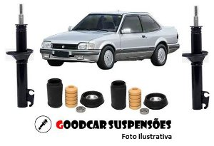 AMORTECEDORES DIANT. + KIT COMPLETO - VOLKSWAGEN APOLLO - 1990 A 1992
