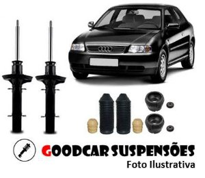 AMORTECEDORES DIANT. + KIT COMPLETO -  AUDI A3 - 1997 A 2006