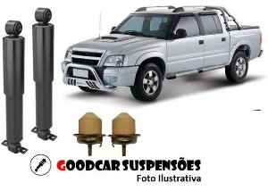 AMORTECEDORES DIANT. + KIT COMPLETO - CHEVROLET S10 PICK UP - 1995 A 2012