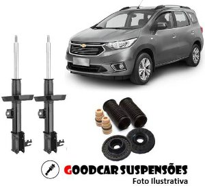 AMORTECEDORES DIANT. + KIT COMPLETO - CHEVROLET SPIN - 2013 A 2017