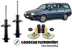 AMORTECEDORES DIANT. + KIT COMPLETO - FIAT TEMPRA SW - 1994 A 1997 (PERUA)