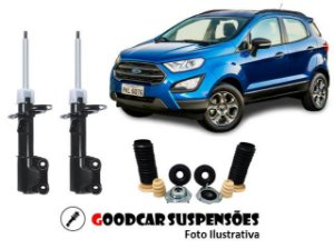 AMORTECEDORES DIANT. + KIT COMPLETO - FORD ECOSPORT 4X2 - 2012 A 2018