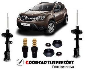 AMORTECEDORES DIANT. + KIT COMPLETO - RENAULT DUSTER |  4X2 - 4X4 - 2011 A 2020