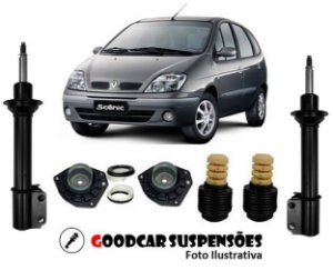 AMORTECEDORES DIANT. + KIT COMPLETO - RENAULT SCENIC - 2007 EM DIANTE