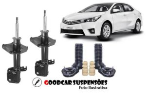 AMORTECEDORES DIANT. + KIT COMPLETO - TOYOTA COROLLA  - 2009 A 2014