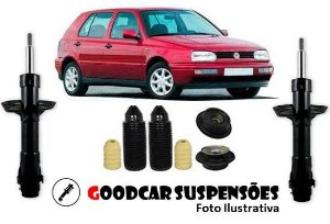 AMORTECEDORES DIANT. + KIT COMPLETO - VOLKSWAGEN GOLF - 1994 A 1998