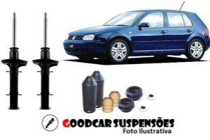 AMORTECEDORES DIANT. + KIT COMPLETO - VOLKSWAGEN GOLF  - 1999 A 2013
