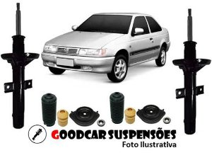 AMORTECEDORES DIANT. + KIT COMPLETO - VOLKSWAGEN LOGUS - 1993 A 1997