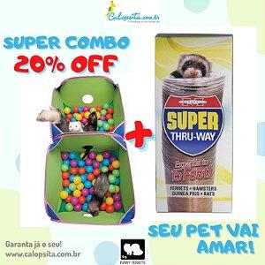 Kit 20% OFF Pop and Play e Super Thru way