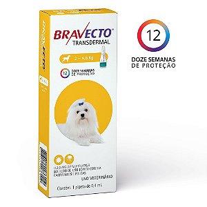 Bravecto Transdermal (2 a 4,5 Kg)
