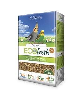 NuTrópica EcoFresh Granulado Higiênico para Aves 1,5Kg