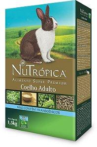 NuTrópica Coelho Adulto 1,5Kg - VALIDADE: 24/02/2020